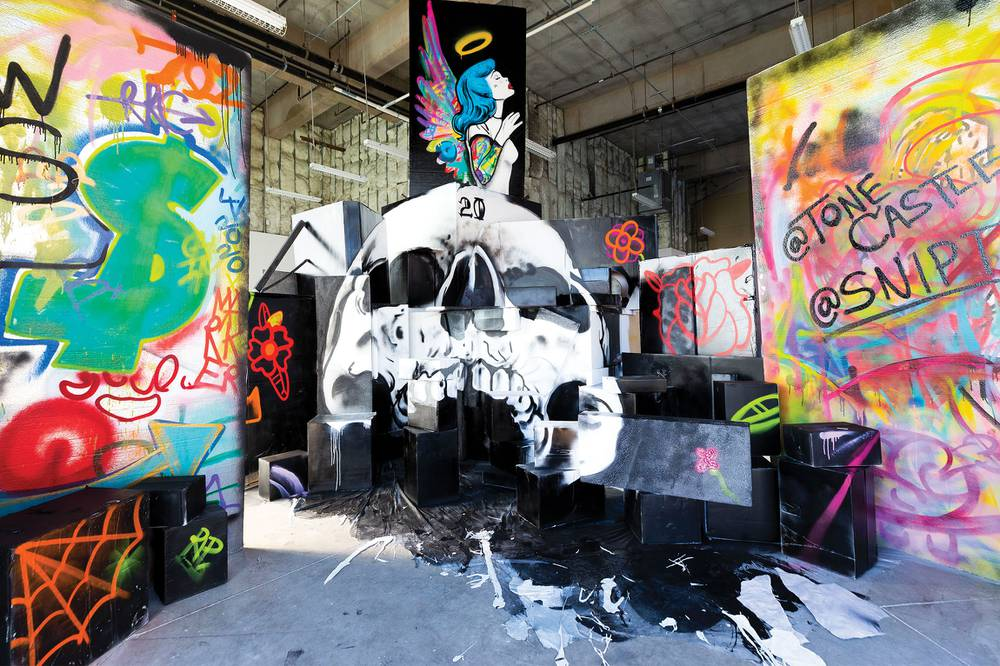 Ascension by SNIPT and ToneCastle of The Wall Saints, Photos by Wade Vandervort, Las Vegas Weekly